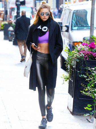 运动服原来可以这样搭!Gigi Hadid的时髦sporty look示范