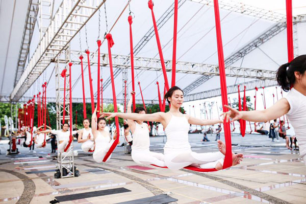 TITIKA邀粉丝共同参与厦门最美瑜