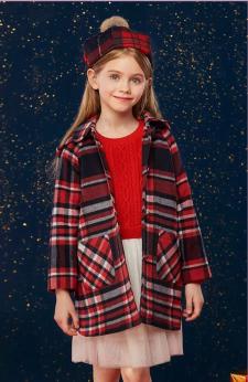 保暖又百搭,安奈儿新款毛线连衣裙上线啦!
