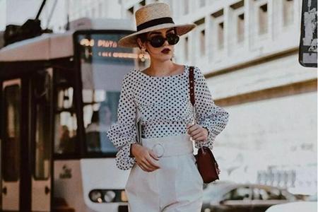 服饰搭配色彩学起来 走路都超级有feeling