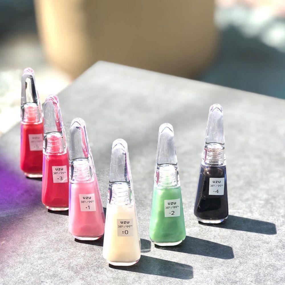 日本话题新品UZU透明唇膏!最理想的唇色温度是这个度数!